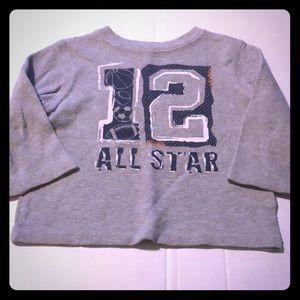 Boys size 3T Jumping beans long sleeve